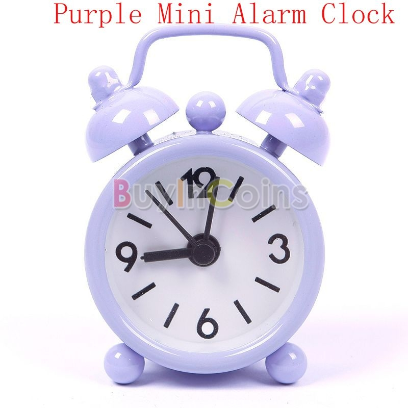 Fashion New Home Creative Mini Candy Color Round Face Silicone Digital Alarm Clock For Baby Children Home фото