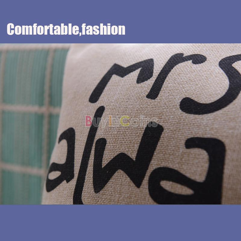 Fashion Back Cushion Cover Pillow Case Waist Pillowcase Decor In Bed Sofa Car фото