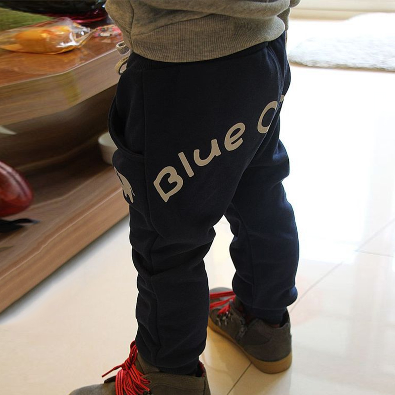 Outdoors Joggers Loose Trousers Children Boy Girl Harem Sport Pants Kids Solid фото