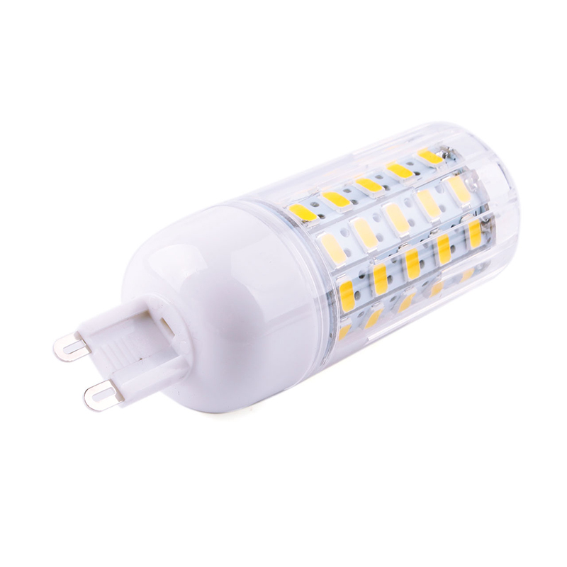 60 Led 5730 SMD G9 Corn Bulb Lamp Light 220V Dimming 18W фото