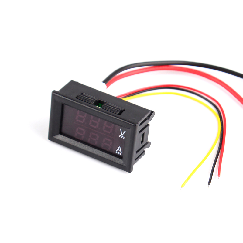 DC0-100V 50A LED Red Blue Dual Display Digital Voltage Ammeter For Home Use фото