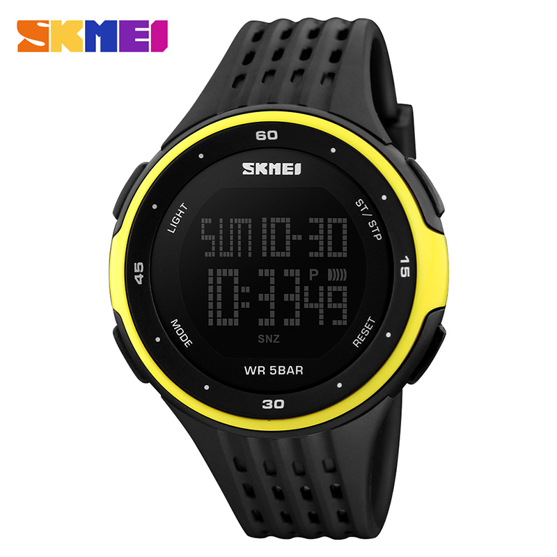 New Mens SKMEI Watch Sport Quartz WristWatch Analog Digital Waterproof Military фото