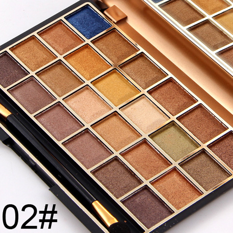 Miss Rose Eyeshadow Palette 24 Color Natural Shimmer Cosmetics Eye Makeup Nude Shadow Makeup Set with Brush фото