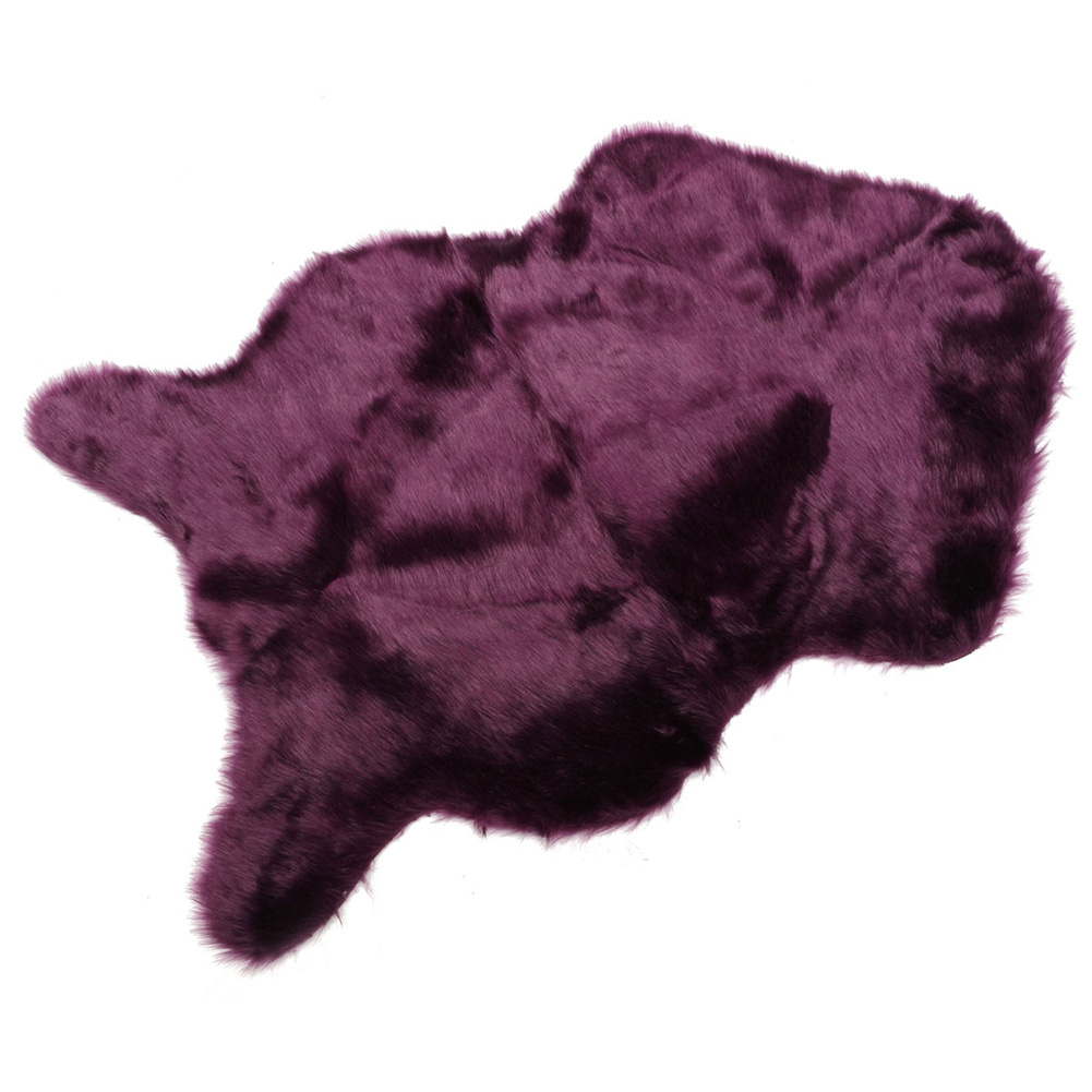 Hairy Carpet Sheepskin Chair Cover Bedroom Faux Mat Seat Pad Fluffy Rugs Washable Artificial Textile фото