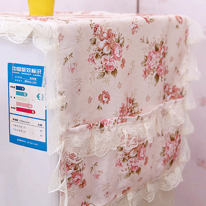 Refrigerator Dust Proof Cover Home Lattice Storage Pouch Organize Bag фото