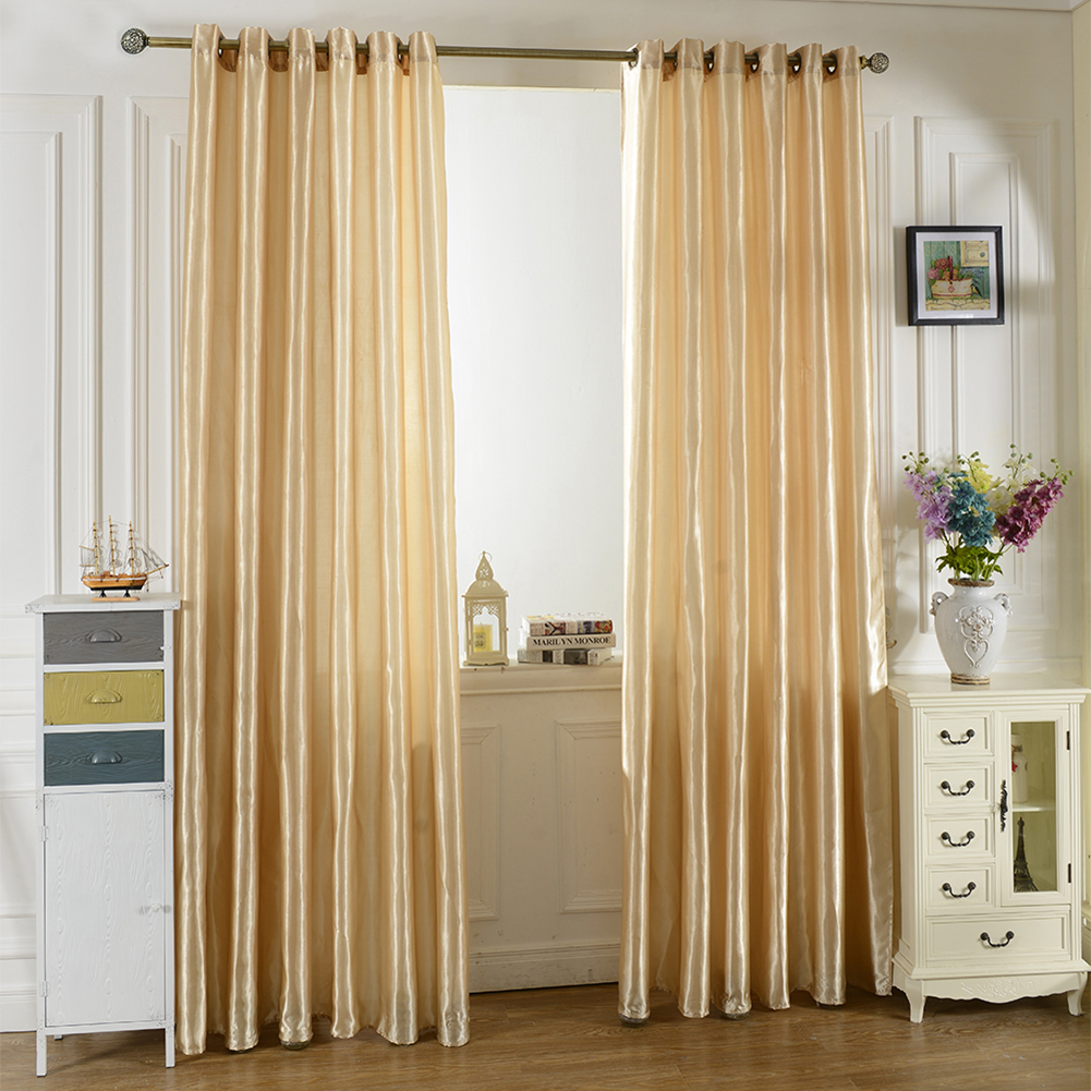 Bright Solid Color Window Kitchen Bathroom Curtain Door Divider Sheer Panel Drapes Scarf Curtain фото