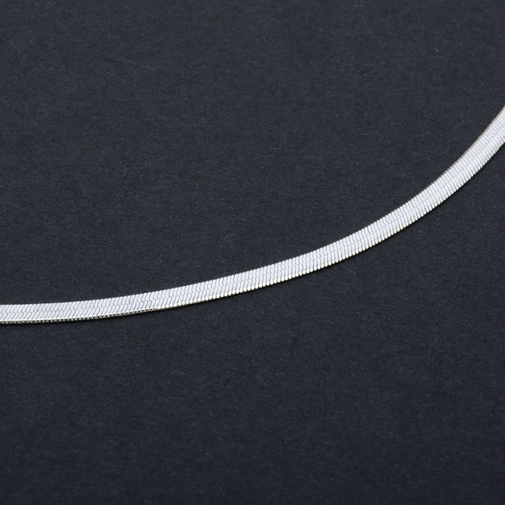 Fashion Sequins Simple Flat Blade Snake Collar Choker Necklace Gold Silver Chain Women Jewelry Accessories Gift фото