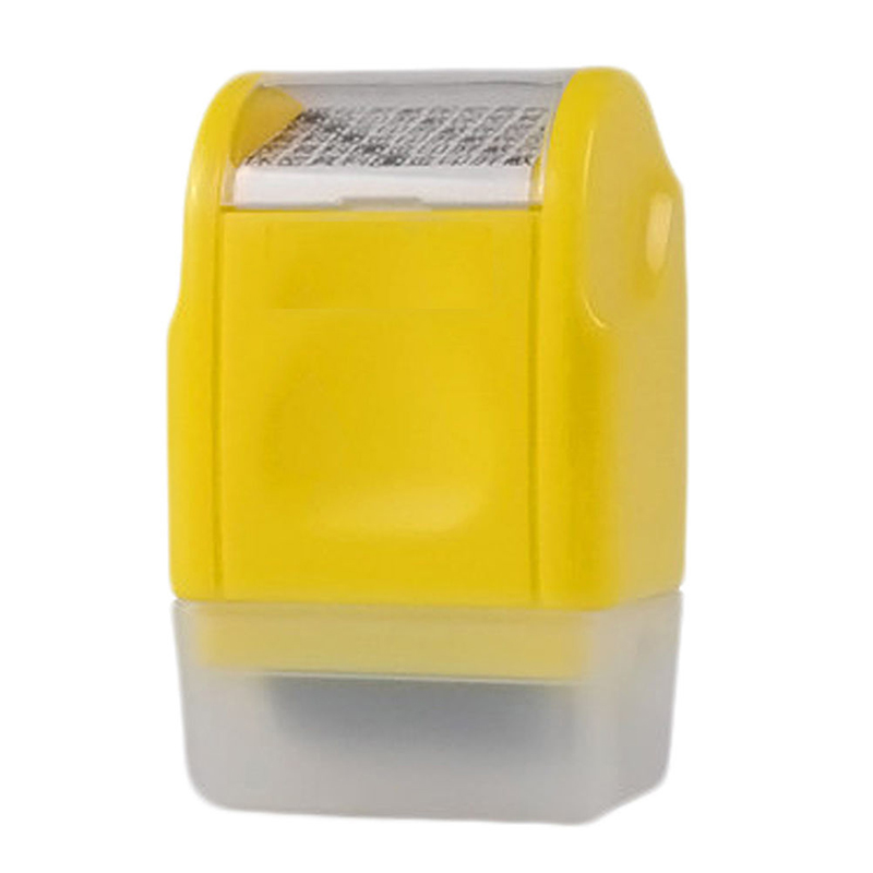 Office Plus Guard ID Roller Stamp Self Inking Stamp Messy Code Security фото
