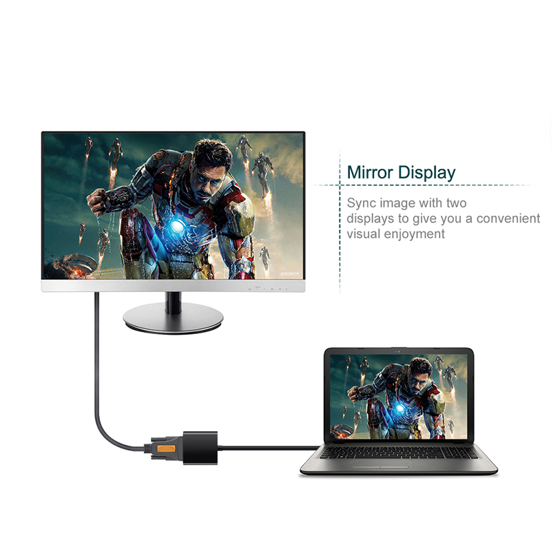 USB 3.0 2.0 to VGA 1080P Multi-display Adapter Converter For Computer Projector фото