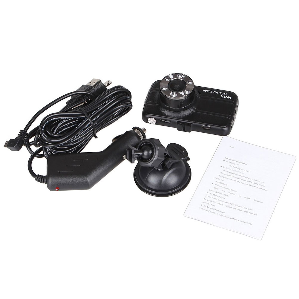 Full HD 1080P Dash Car Black Box Car DVR Dashboard Camera Vehicle Camera Front Video Recorder Night Vision фото