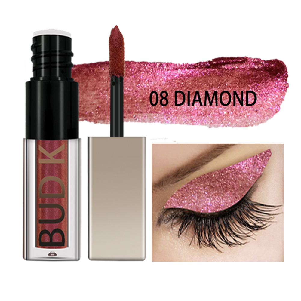 BUD K 0.35ml Waterproof Metal Glitter Liquid Shimmer Stick Pencil Pen Eye Shadow Palette Cosmetic Beauty фото