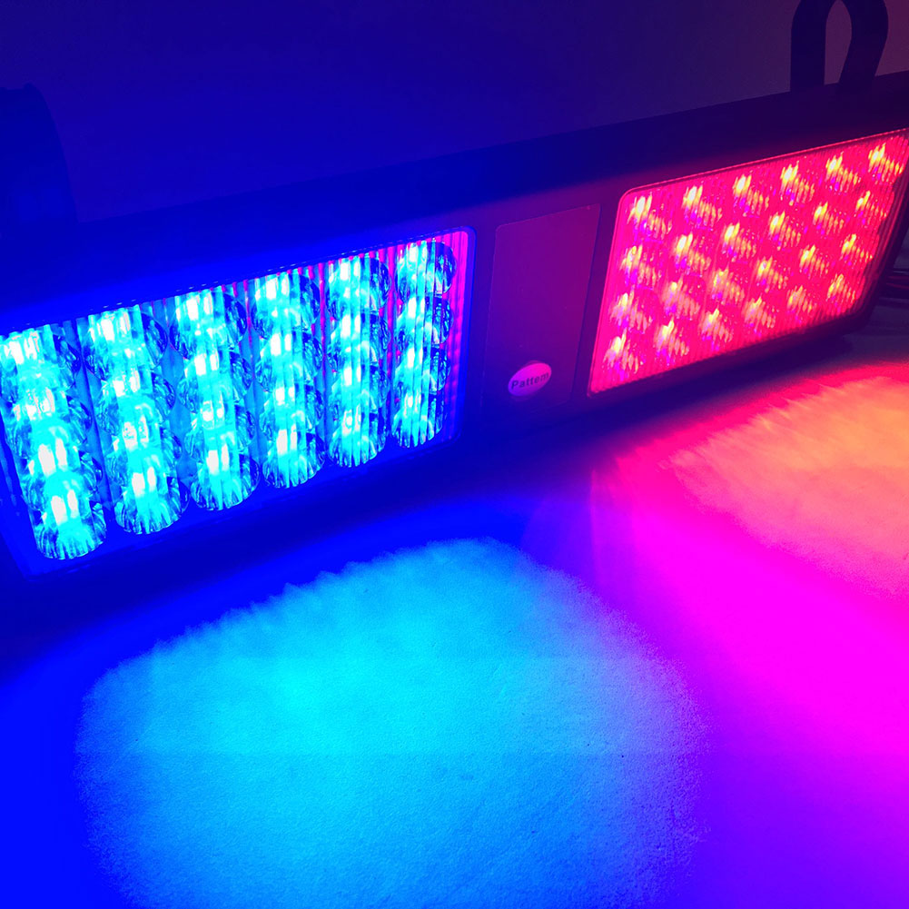 New 48 LED Car Truck Visor Strobe Flash Lighting Emergency Light Lamp