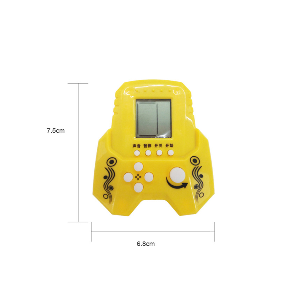 Classic Electronic LCD Tetris Game Vintage Brick Handheld Puzzle Toys фото