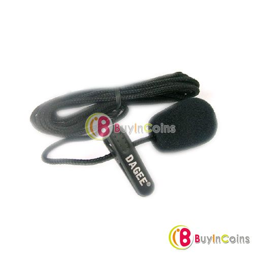Mini Clip Business Stereo Microphone Mic for PC Laptop 01 фото